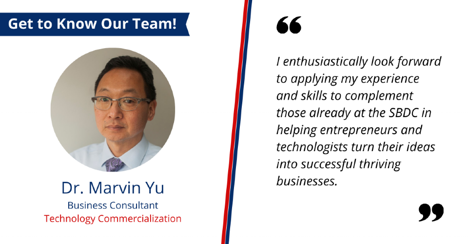 Get to Know Our Team: Marvin Yu